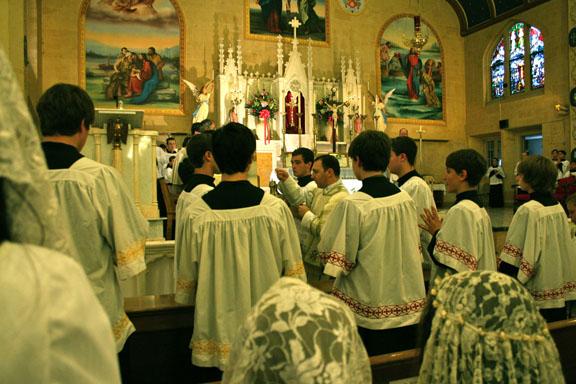 Assumption Mass 2010